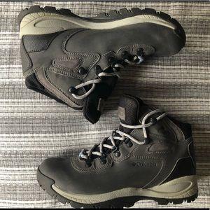 Sturdy Gray Columbia Hiking boots